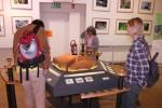 In der Ausstellung im Haus der Natur