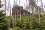 Hopfensäcke - Granitfelsen in der sogenannten Wollsackverwitterung