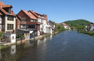 Werra in Eschwege