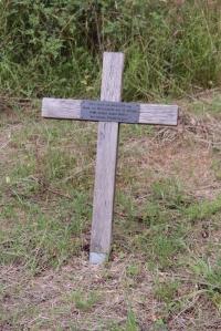 Gedenkkreuz an der ehemaligen Grenze